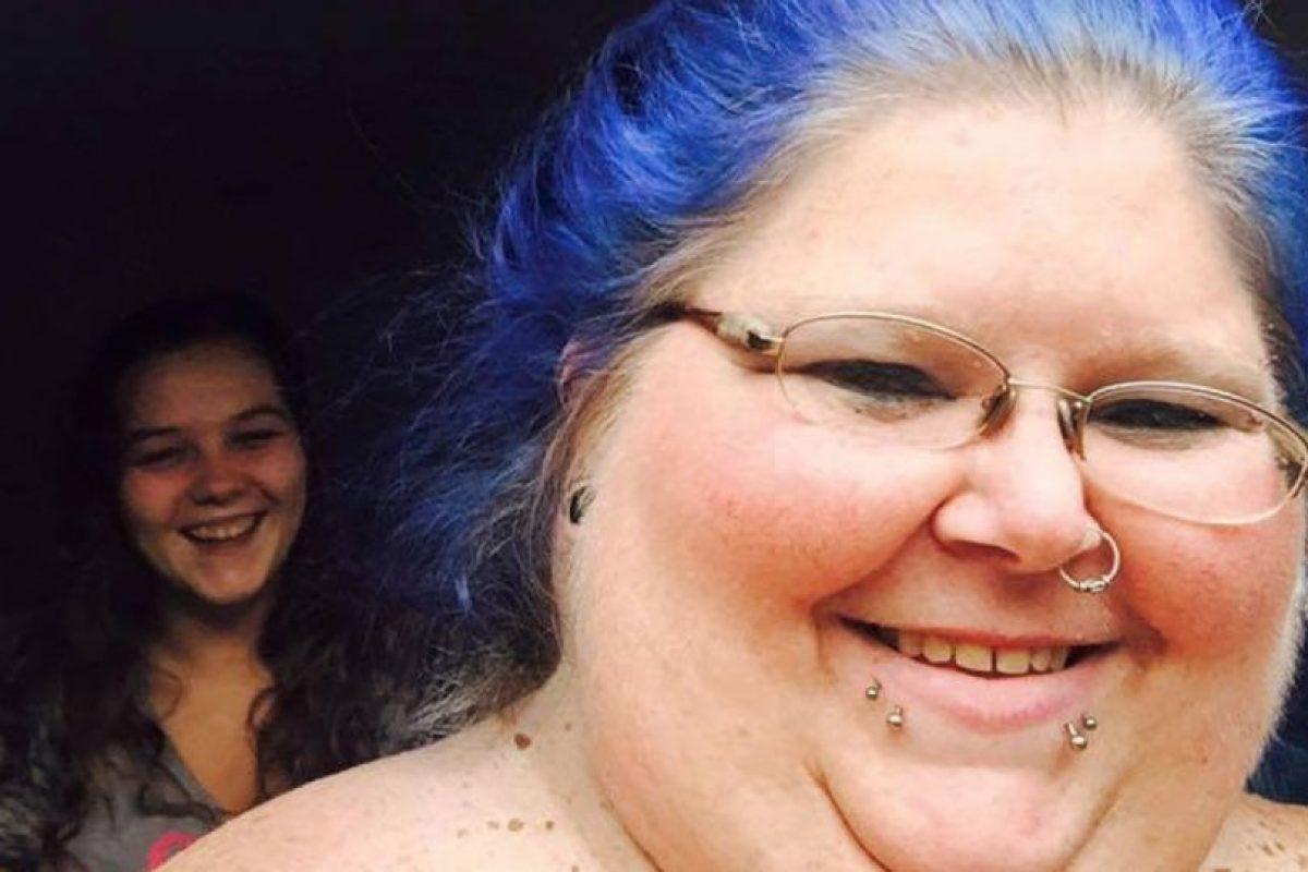 Pero en Internet encontró el modelaje BBW, que se especializa en obesas mórbidas posando desnudas. Foto:vía Facebook/Christina Paez