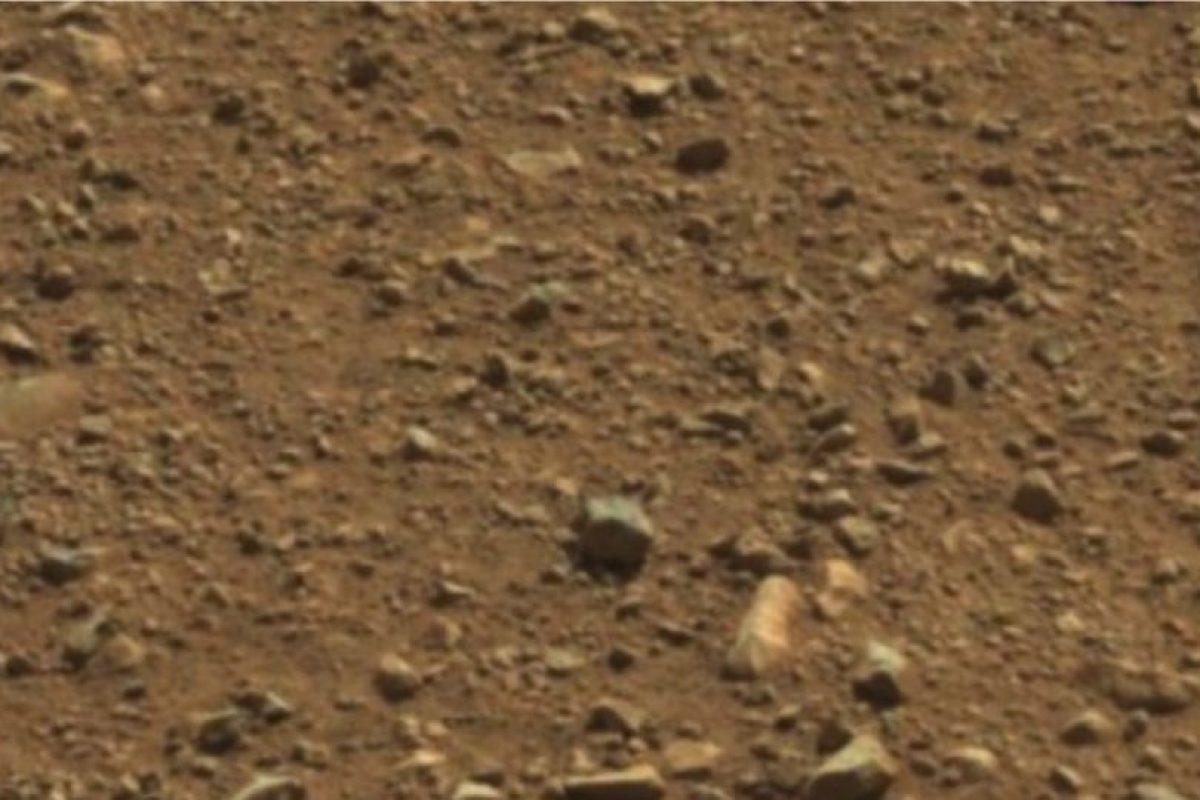 Se encontró en abril de 2013 Foto:Vía mars.jpl.nasa.gov/
