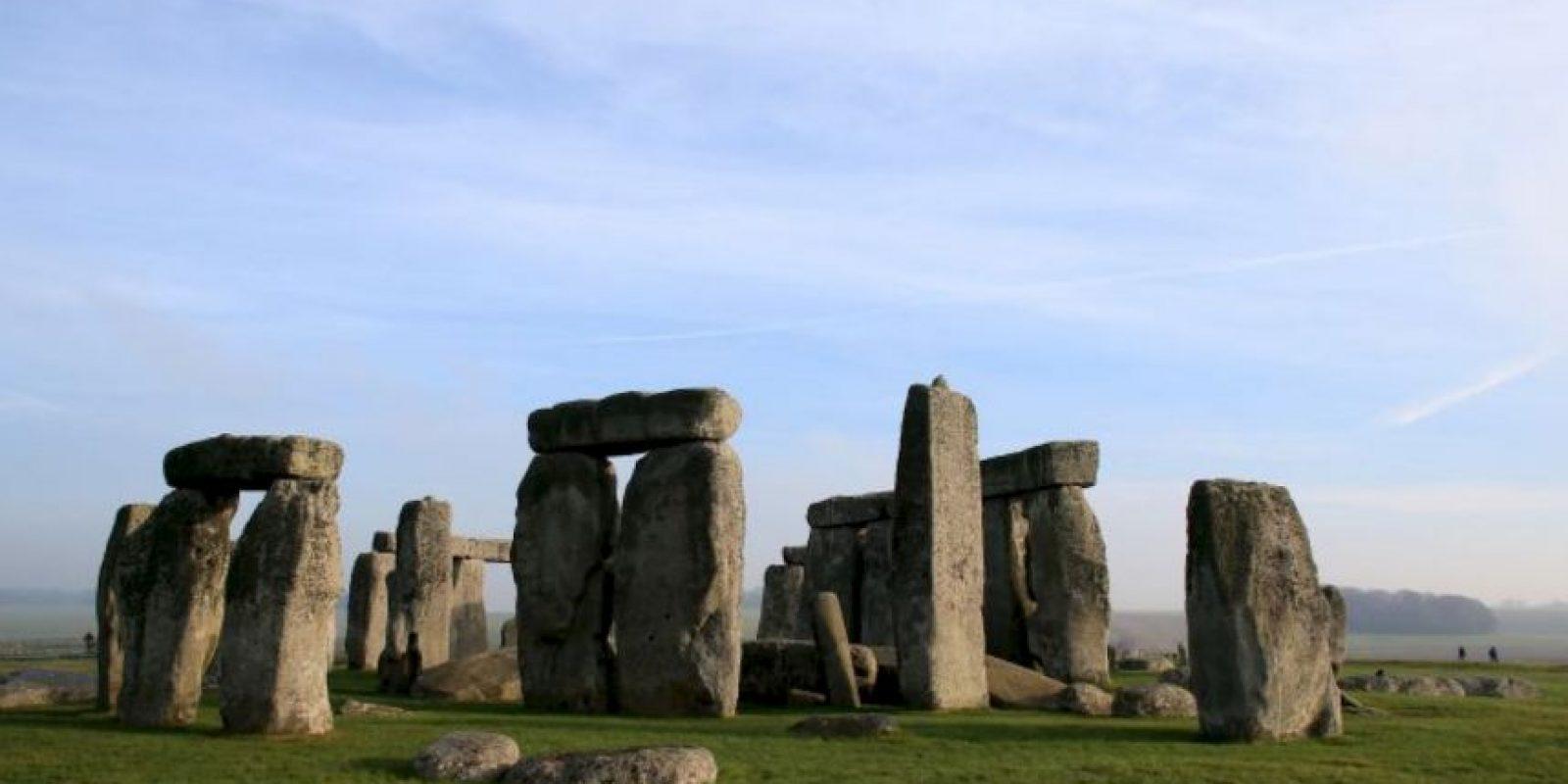 Stonehenge original, en la Tierra. Foto:Getty Images