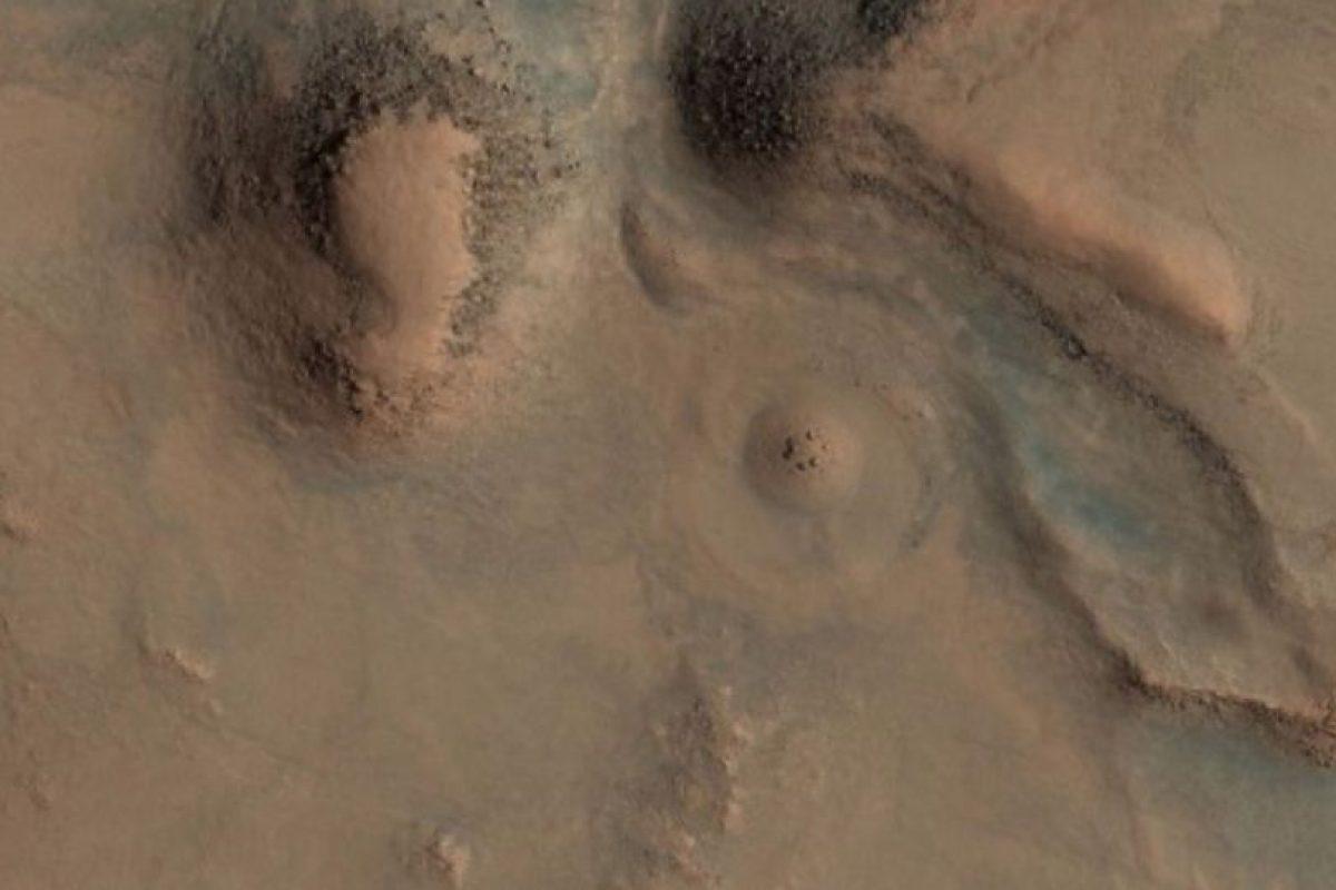 Esta es la imagen difundida por la agencia espacial Foto:Vía hirise-pds.lpl.arizona.edu/PDS