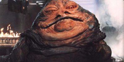 El personaje Jabba el Hutt Foto:Vía 20th Century Fox