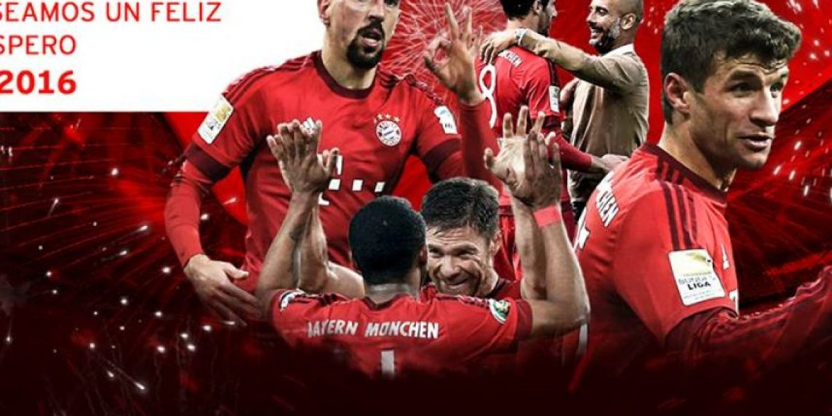 El FC Bayern envía un saludo a sus aficionados guatemaltecos