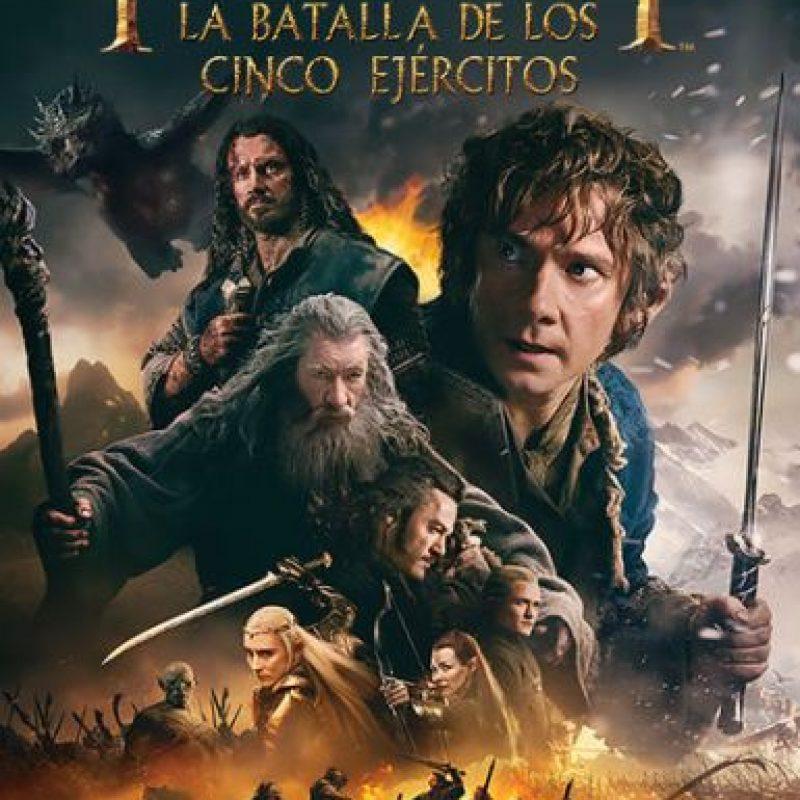 """""""El Hobbit: La batalla de los cinco ejércitos"""". Disponible a partir del 24 de enero. Foto:vía Netflix"""