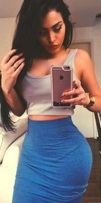 La mejores fotos de la doble de Megan Fox Foto:instagram.com/claudiaalende/