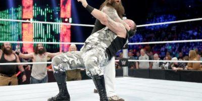 """El """"Devorador de mundos"""" terminó 2015 con 13 victorias, cuatro derrotas y cuatro peleas sin decisión Foto:WWE"""