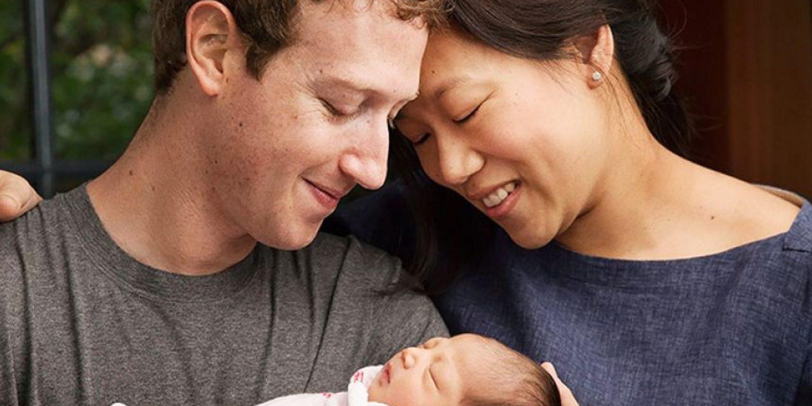 Maxima Zuckerberg, la hija de Mark Zuckerberg y Priscilla Chan. Foto:vía facebook.com/markzuckerberg