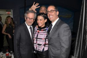 George Clooney robando toda la atención. Foto:Getty Images