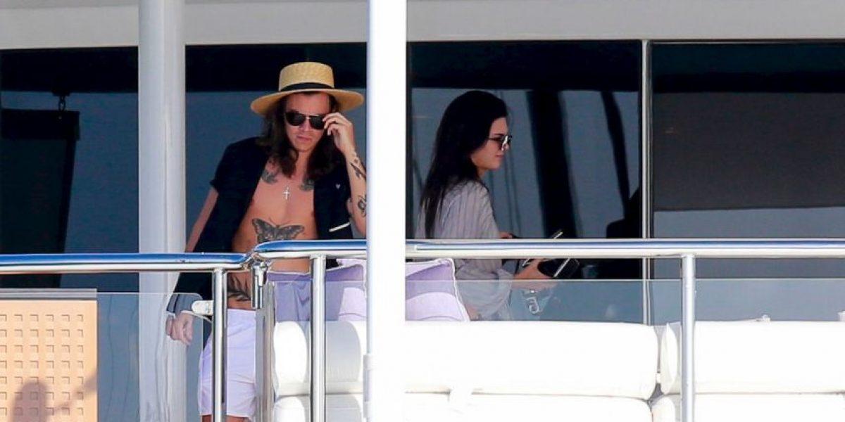 Así fueron las románticas vacaciones de Kendall Jenner y Harry Styles