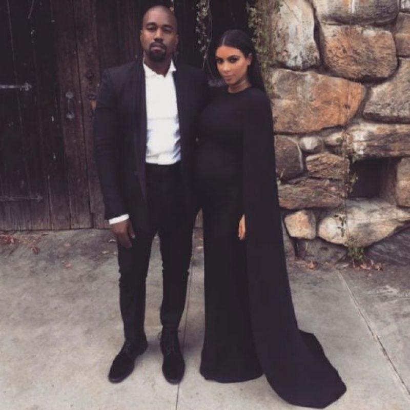 Kim Kardashian y Kanye West Foto:vía instagram.com/kimkardashian