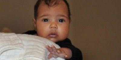 North West, la primera hija de Kim Kardashian y Kanye West Foto:vía instagram.com/kimkardashian