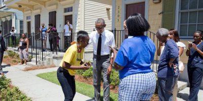 Obama de visita en New Orleans. Foto:instagram.com/petesouza/