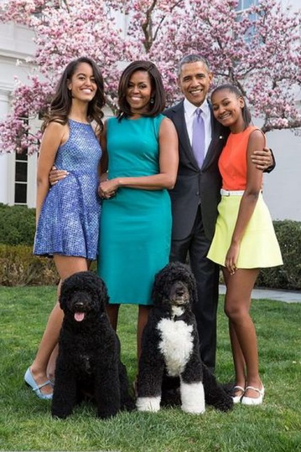 La familia presidencial de los Estados Unidos de America. Foto:instagram.com/petesouza/