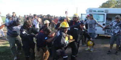 Los heridos. Foto:AP