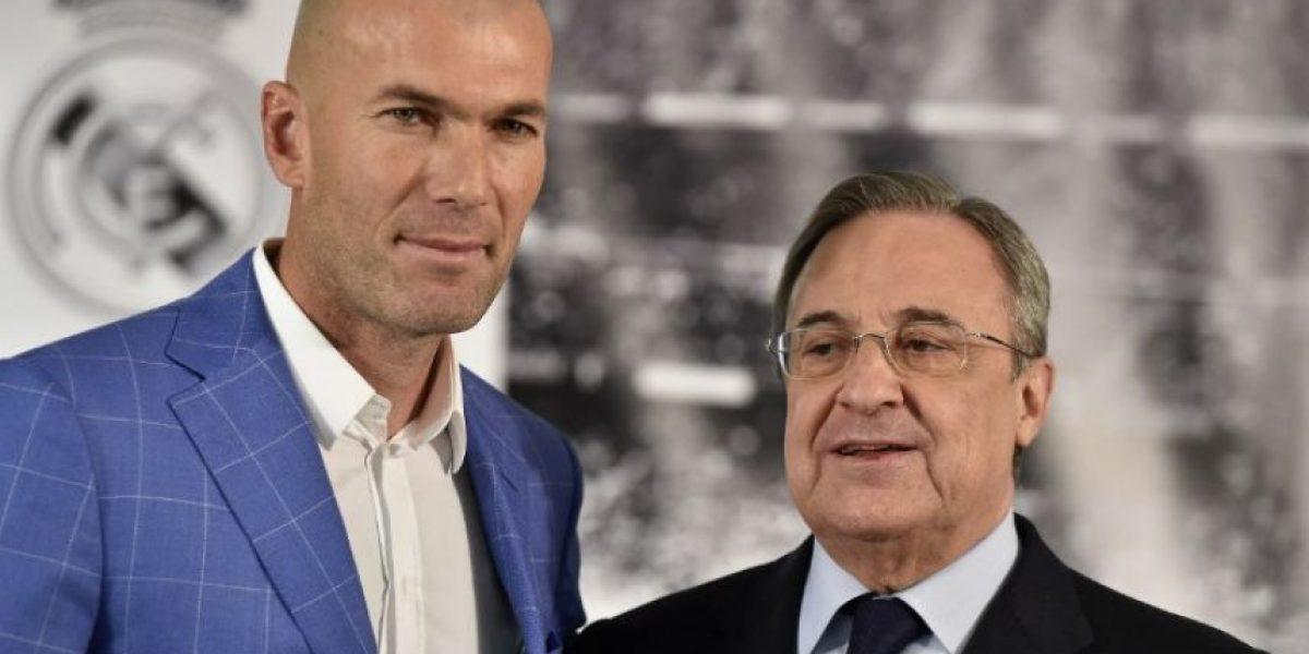 Benítez se va del Real Madrid y Zidane ocupará su lugar