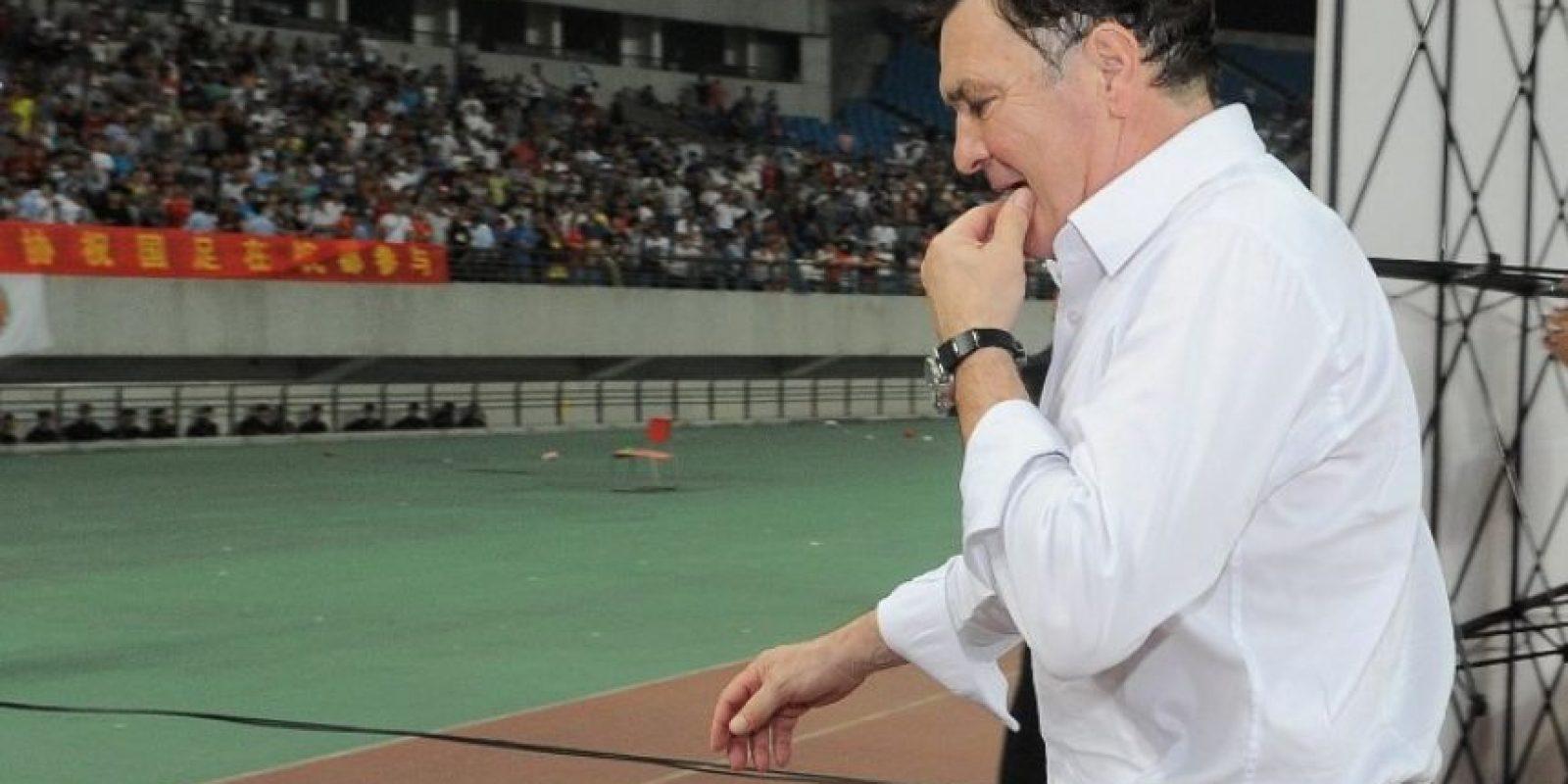 José Antonio Camacho Foto:AFP