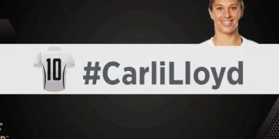 Carli Lloyd. Foto:vía twitter.com/fifacom_es