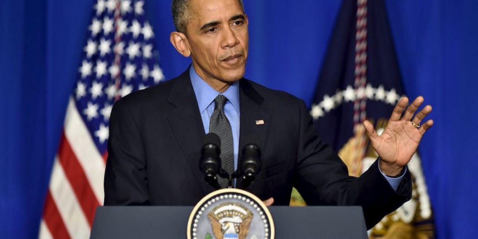 Cuestionado en el mismo tema, Barack Obama comentó que una de las primeras cosas que le preguntan es sobre el área 51 Foto:Getty Images