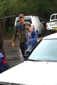 Estas fueron las primeras imágenes de la pareja en Australia. Foto:vía instagram.com
