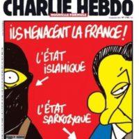 También criticaban a gobiernos anteriores, como el de Nicolás Sarkozy. Foto:Charlie Hebdo