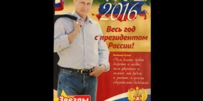 Los fanáticos del presidente ruso Vladimir Putin pueden admirarlo todo el año. Foto:Vía Zvezdi me Soveti