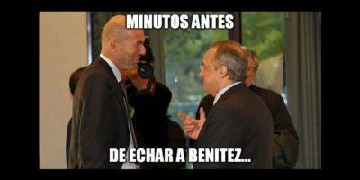 Las mejores burlas por la llegada Zinedine Zidane al timón del Real Madrid Foto:Twitter