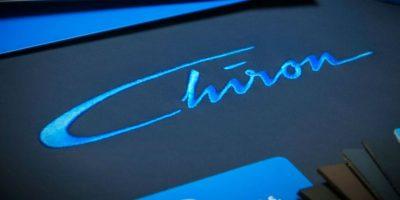 Se presentará en el Auto Show de Ginebra. Foto:vía twitter.com/Bugatti