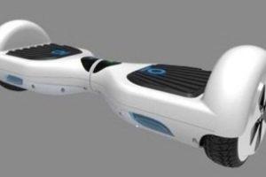 Transportador personal motorizado de autoequilibrio (parte monopatín y segway). Foto:vía iohawk.com