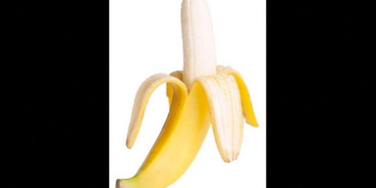 5. Un plátano mide en promedio 16 cms (6 pulgadas) Foto:Wikimedia