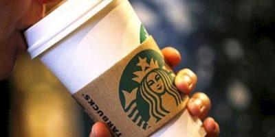 10. Un vaso venti de Starbucks. Mide 17 cms (6 pulgadas) Foto:Wikimedia