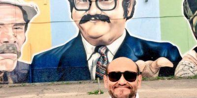 Édgar Vivar viaja por el mundo. Foto:vía twitter.com/varedg