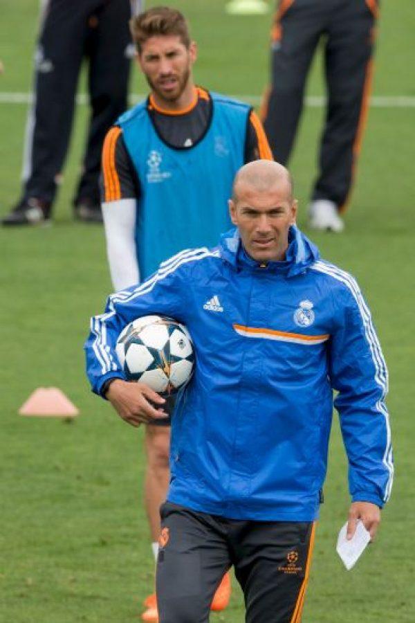 """Para Zidane la palabra imposible no existe"": Florentino Pérez, presidente del Real Madrid Foto:Getty Images"