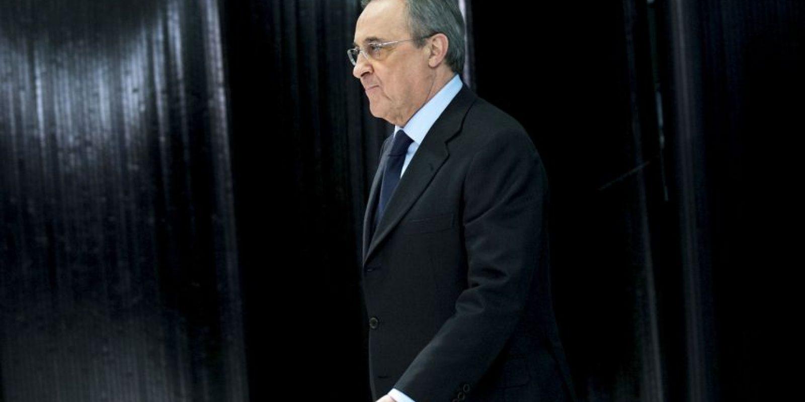 """""""Es una de las figuras más grandes de la historia del fútbol"""": Florentino Pérez, presidente del Real Madrid Foto:Getty Images"""