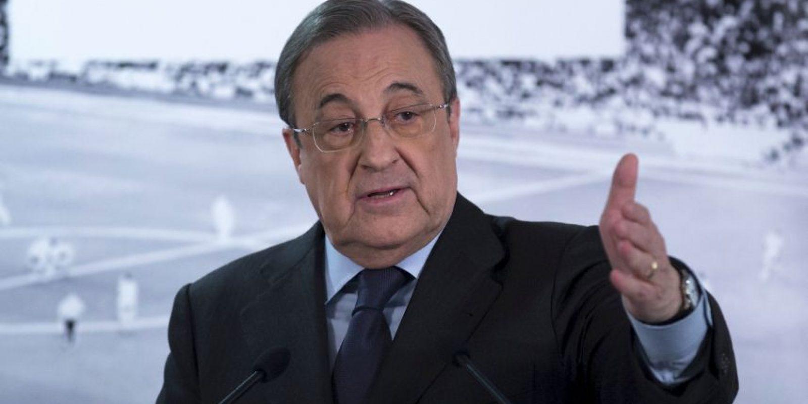 """""""Conoce muchos de los futbolistas con los que logró la décima como auxiliar"""" Florentino Pérez, presidente del Real Madrid Foto:Vía twitter.com/realmadrid"""