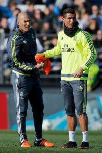 Este martes 5 de enero fue su primer entrenamiento como DT del Real Madrid y también ofreció su primera conferencia de prensa. Foto:Getty Images