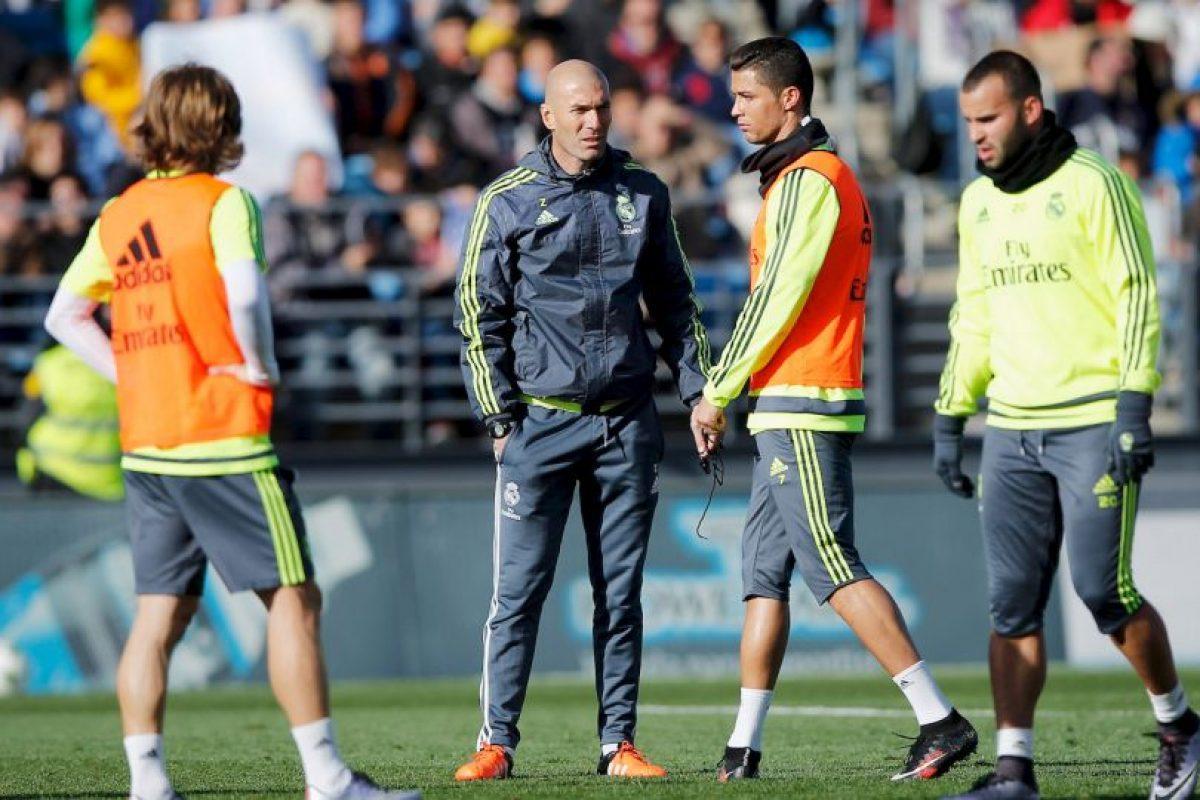 Zinedine Zidane es el nuevo entrenador del Real Madrid. Foto:Getty Images