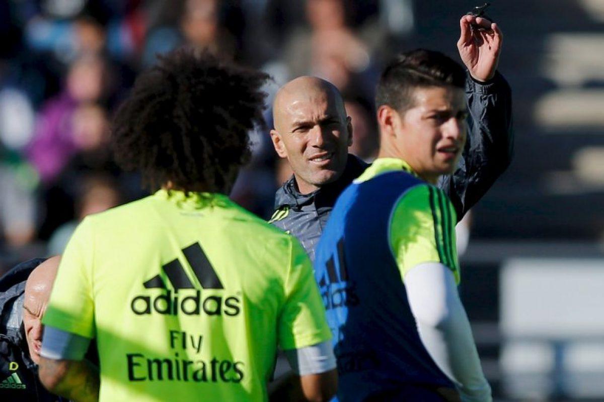El francés, exfutbolista, fue nombrado como DT del club merengue este 4 de enero. Foto:Getty Images