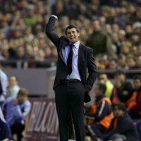 El entrenador del Castilla relevó a Luxemburgo, pero nunca se quitó el título de DT interino Foto:Getty Images