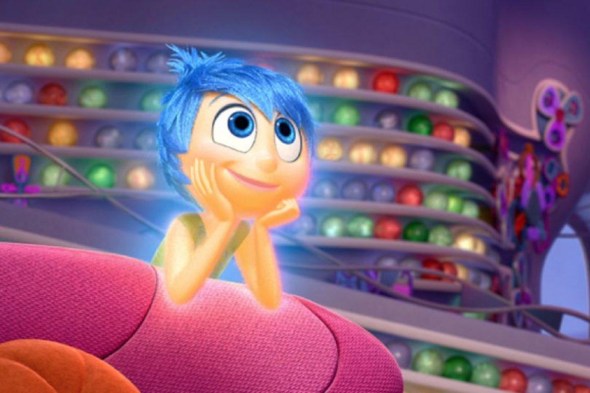Fue muy difícil lograr la textura del cuerpo de Alegría, pero John Lasseter se entusiasmó tanto con esta, que se la dio a todos los demás personajes. Foto:vía Pixar
