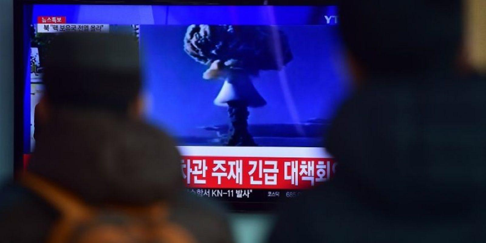 """Corea del Norte anunció """"pruebas exitosas"""" de una bomba de hidrógeno Foto:AFP"""