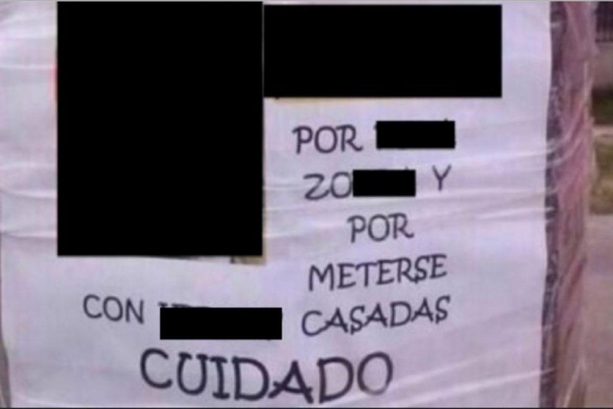 Daniela Murcia, colombiana, se subió al carro de su marido, quien iba adentro con su amante. Foto:vía Facebook