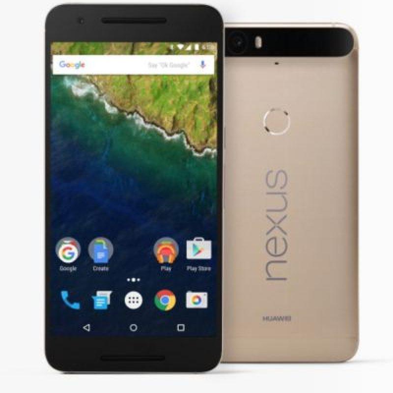 La versión dorada del Nexus 6P. Foto:Huawei