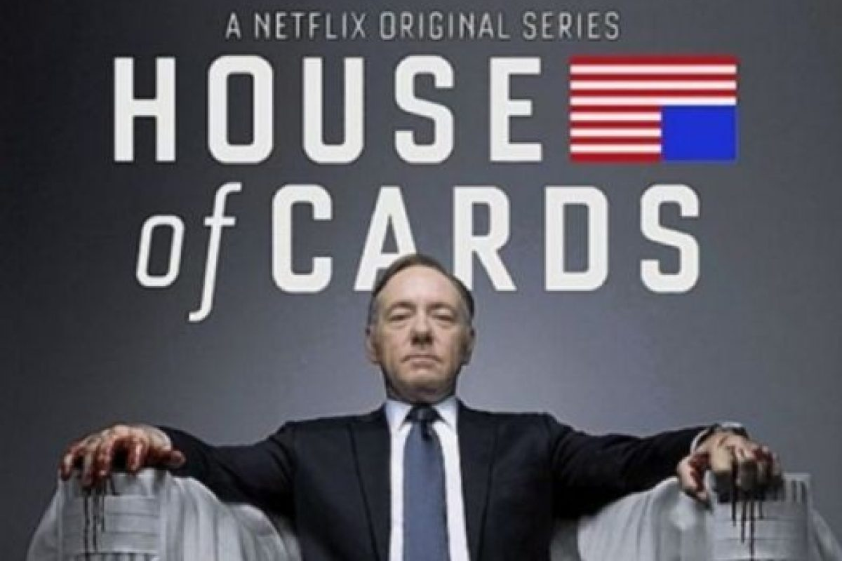 2- House of Cards (Tres temporadas). Foto:Netflix