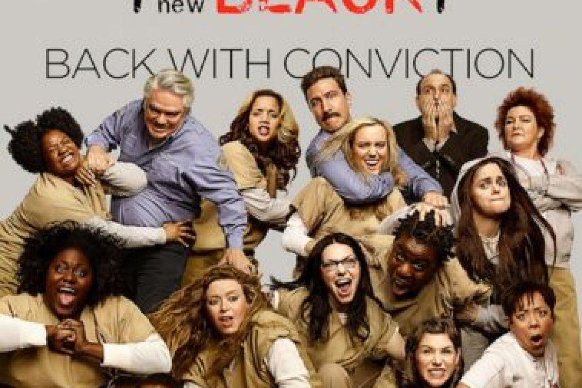 3- Orange Is The New Black (Tres temporadas).