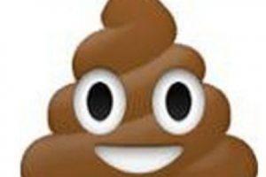 """2- Usuarios debaten si se trata de """"popo"""" o en realidad es helado de chocolate. Foto:vía emojipedia.org"""