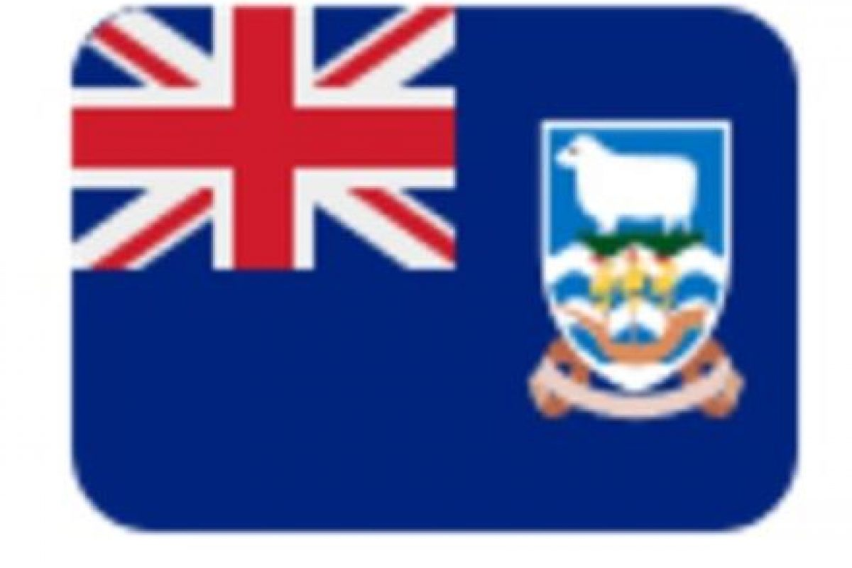 Islas Malvinas en Twitter. Foto:vía emojipedia.org