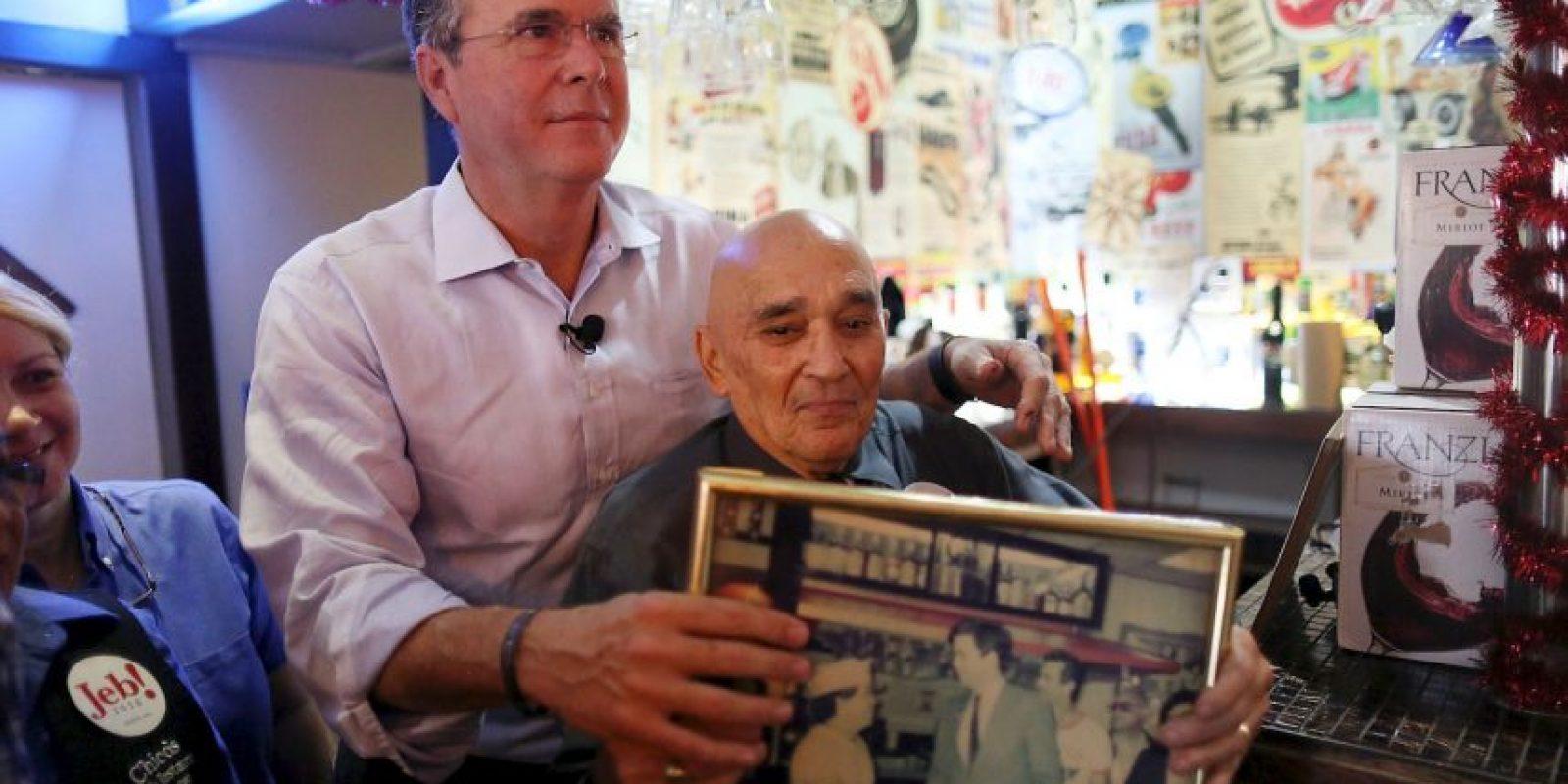 Tenía el 12% de preferencia sobre los demás presidenciables Foto:Getty Images