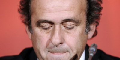 Michel Platini anuncia que no buscará la presidencia de la FIFA