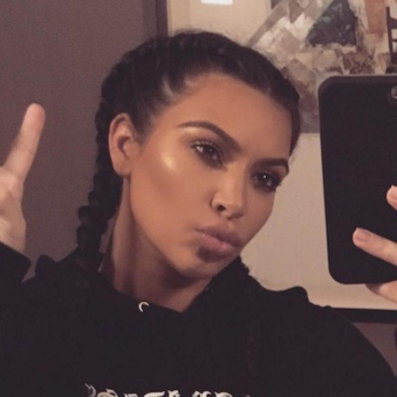 Así luce en la actualidad Kim Kardashian Foto:Instagram/kimkardashian