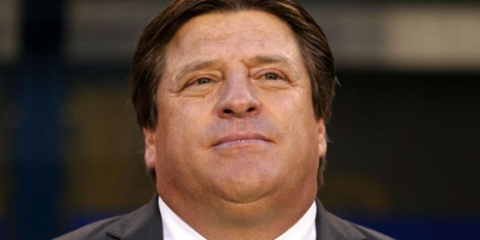 Miguel Herrera (Tijuana de México). El extécnico de la Selección de México jugó la Copa América de 1993 Foto:Getty Images