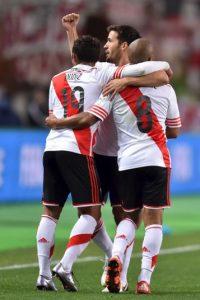 """Los """"Millonarios"""" fueron subcampeones del mundo y ganaron la Libertadores Foto:Getty Images"""